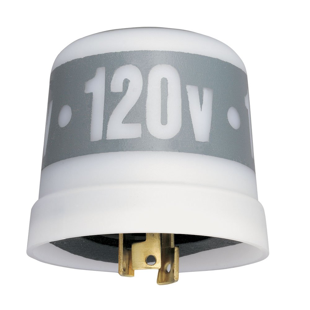 Intermatic LC4521LA 120-Volt Thermal Photocontrols with Low Cost Locking Type Mounting