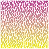Reminisce Ombre Series Double Sided Scrapbook Paper, Crimson Sky, 12 by 12-Inch