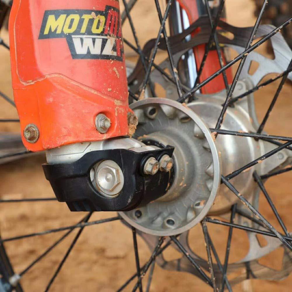 Wingsmoto Prot/ège-cache de protection pour fourche WP pour Husqvarna FE FC TE TC 125 250 300 350 KTT EXC Motocross Dirt Pit Bike Bleu
