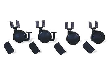 Pinolino 560003 rollensatz mit u aufnahme schwarz: amazon.de: baby