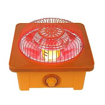 Calentador De Pie Función Mini Estufa De Varios Pies Calefacción Eléctrica Horno De Oficina Pequeño Artefacto Calentador Brasero Invierno,A: Amazon.es: ...
