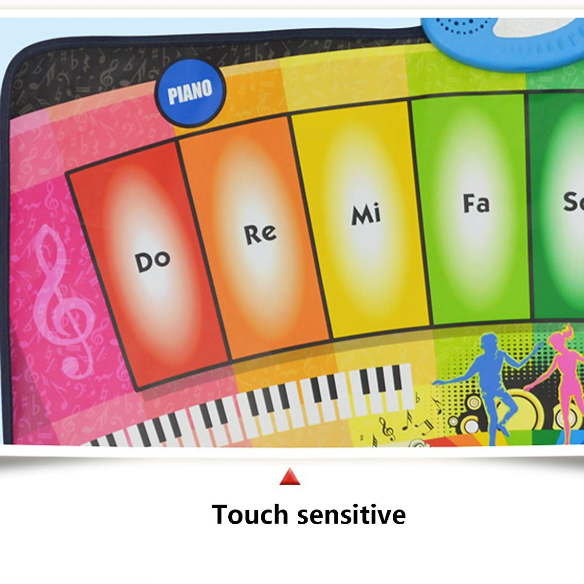 Children's Electronic Piano Mat, Electronic Music Game Pad Music Crawling Blanket Support Multi-Person Use by Eustoma (Image #7)
