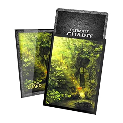 Ultimate Guard UGD10904 Printed Sleeves Standard Size-Lands Edition II-Forest 100 Pack: Toys & Games