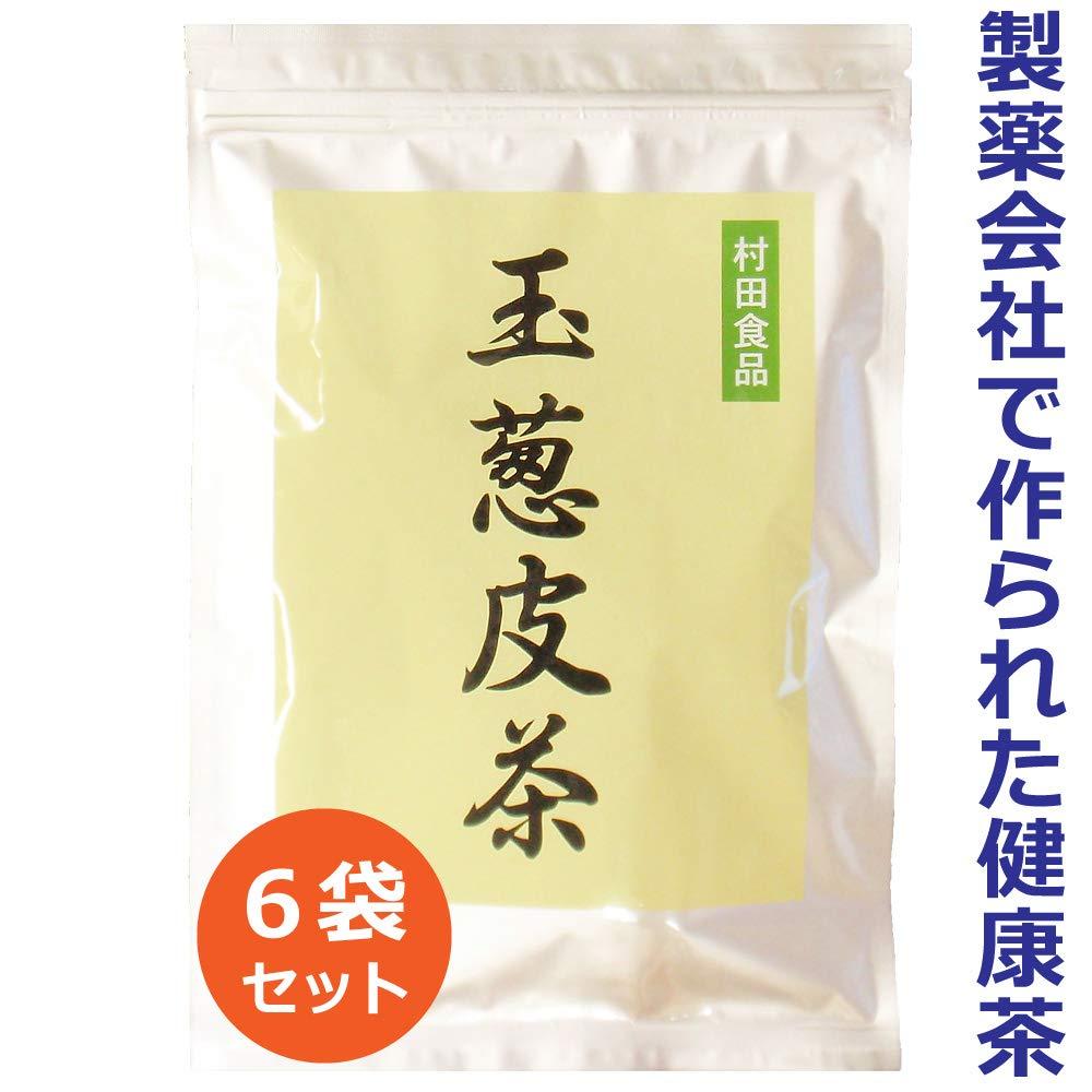 玉ねぎ皮茶 お茶 30包×6袋セット 村田食品の玉ねぎ皮茶 お茶ティーパックタイプ   B00BWL3WHY