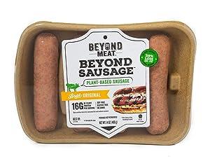 Beyond Meat Brat Original Plant-based Sausage, 14 oz (2 Pack, 8 Links Total)