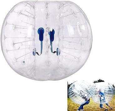 Amazon.com: WoLoYo burbuja inflable de fútbol bola ...
