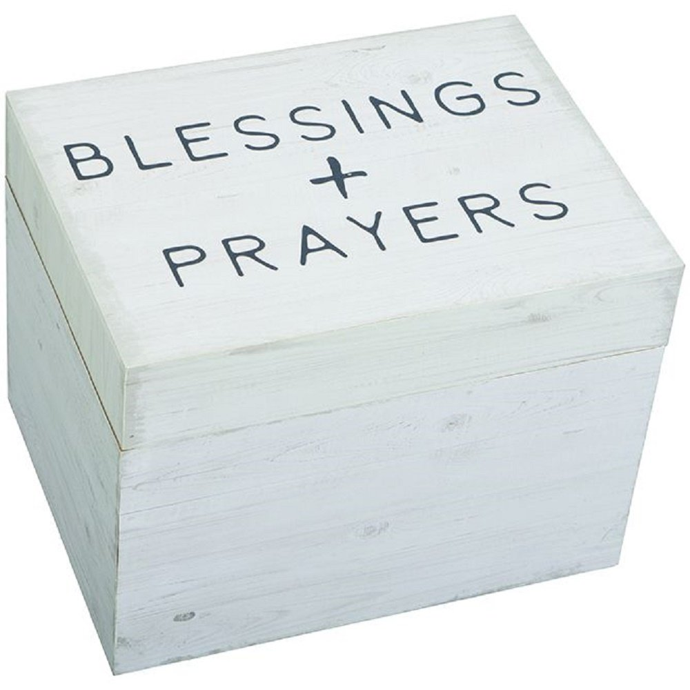 Carson Blessings and Prayers Keepsake Memory Box Home Accents