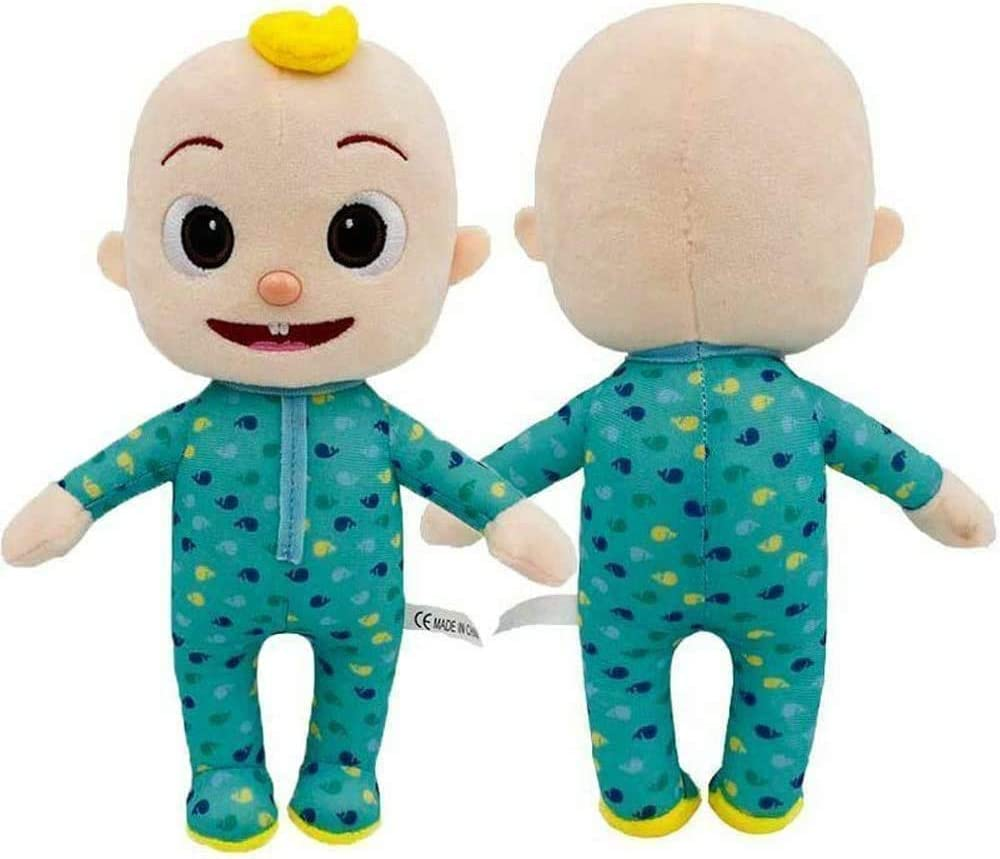 JJ Doll Plush Cute Stuffed Animal Toys Educational Character Toys for Babies Toddlers and Kids Gifts