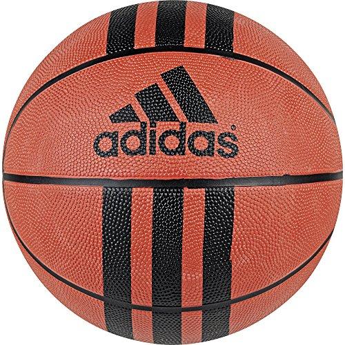 Adidas 3 Stripe Basketball - adidas Performance 3-Stripes Basketball, Natural/Black, Size 7
