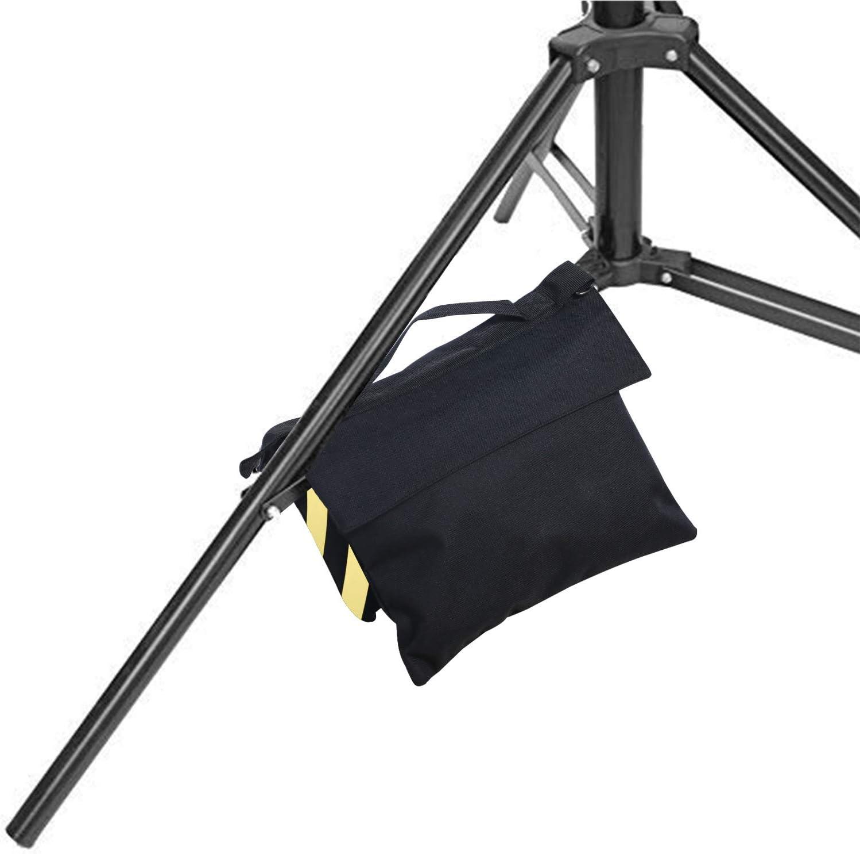 Yellow-4pcs ABCCANOPY Sandbag Saddlebag Design 4 Weight Bags for Photo Video Studio Stand