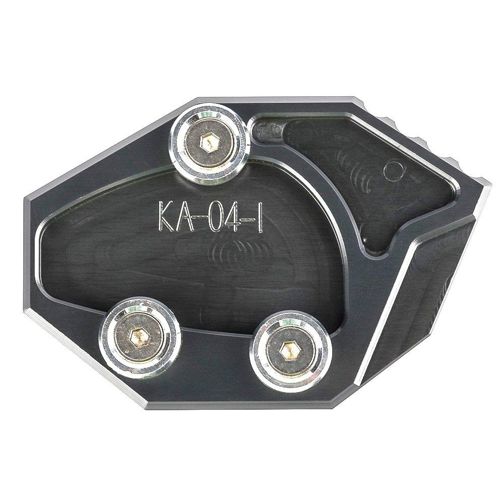 Para Kawasaki ZX-14R /14/Kawasaki GTR1400/ 06/ 07/ Concours 14 ZZR1400 /14/CNC soporte de aluminio motocicleta lateral soporte de ampliar placa Pad