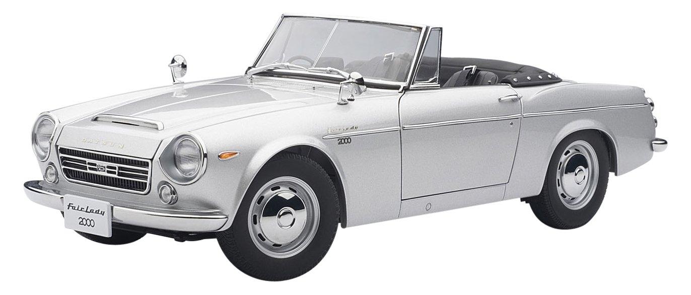 Datsun Fairlady 2000 (SR311), silber, Modellauto, Fertigmodell, Auto Art 1 18