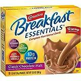 yogurt powder mix - Carnation Breakfast Essentials Powder Drink Mix, Classic Chocolate Malt, 10 Count Box of 1.26 oz Packets