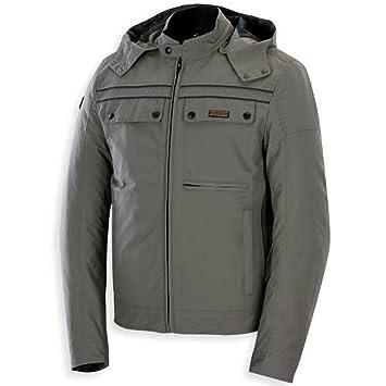 Chaqueta de moto textil para hombres,SPYKE CITY MAN GT MUD (XXL, BARRO): Amazon.es: Coche y moto