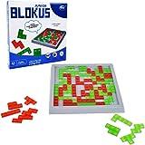 Blokus Strategiespiel Pädagogisches Spielzeug - WISHTIME Gehirn Teaser Mind-Strategie Spiel Schnelles Rennen für die Familie Zeit für Kinder 3+