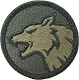 Wolf Head Morale Patch (ACU Light (Foliage Green))