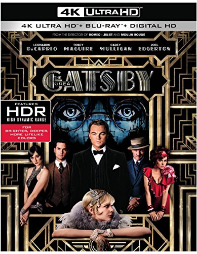 4K Blu-ray : The Great Gatsby (With Blu-Ray, 4K Mastering, 2 Disc)