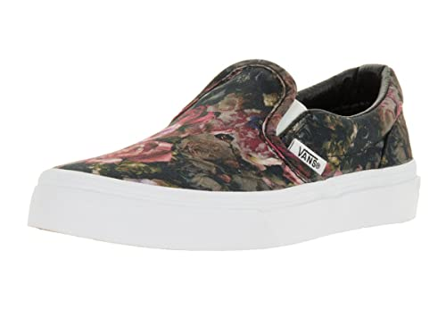 80ea0bbc4f Vans Kids Classic Slip-On (Moody Floral) Black True Skate Shoe 11.5 Kids  US  Amazon.ca  Shoes   Handbags