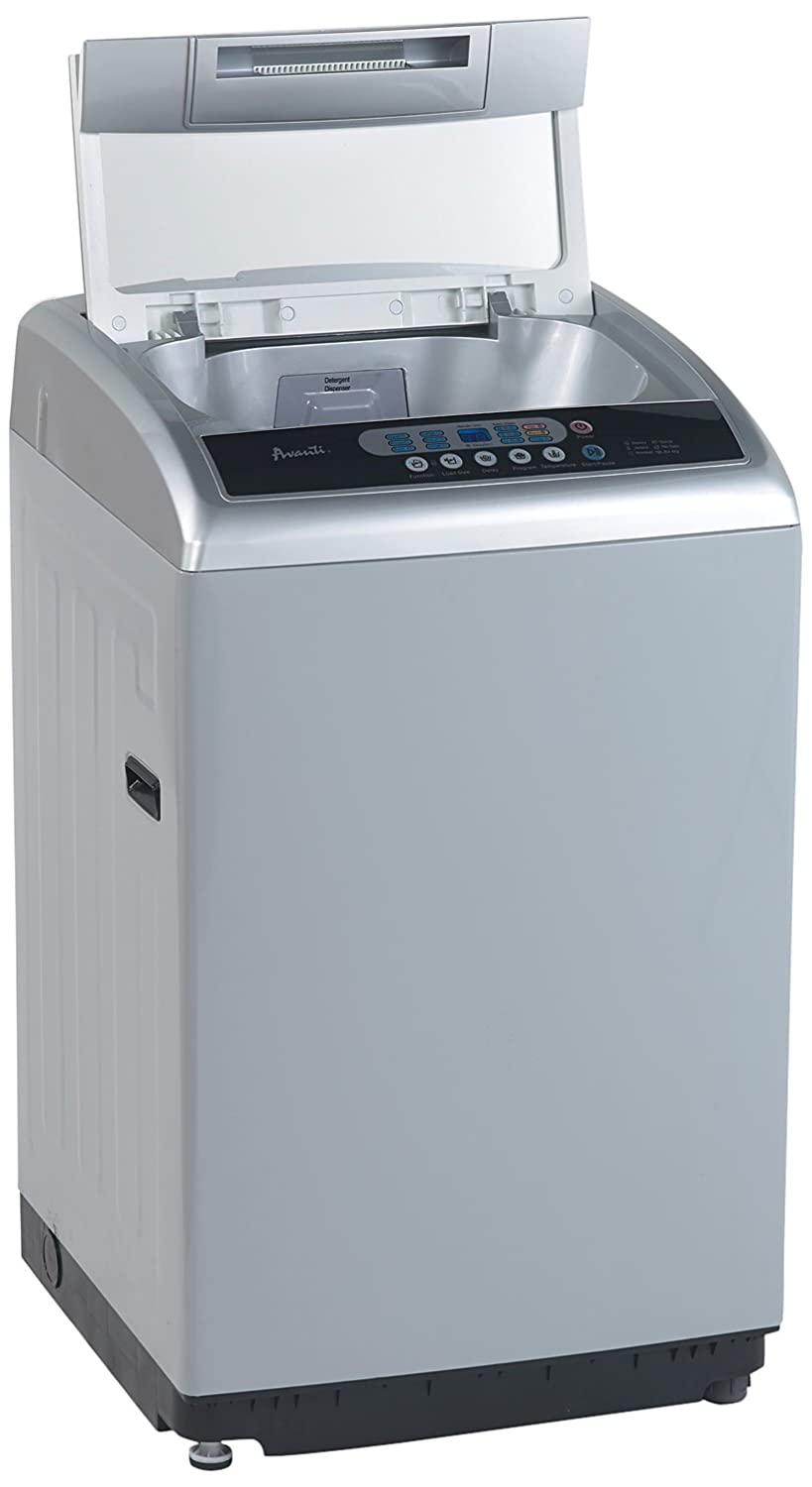 Avanti TLW21PS Top Load Washer, 2.1 cu. ft, Platinum OCI Major Appliance Distribution