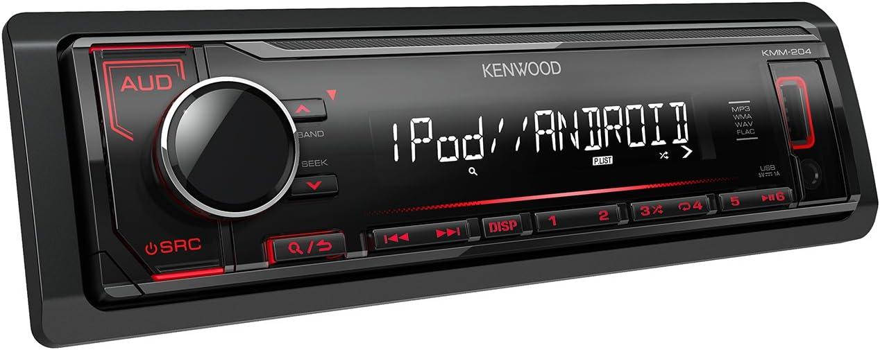 Car Stereos Audio gaixample.org Kenwood KMM 204 Digital Media ...