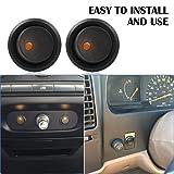 AutoEC 10pcs Car Round Rocker Toggle Switch LED