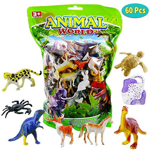 Plastic Mini Animals