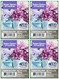 Better Homes and Gardens French Lilac Flowers Wax Cubes - 4-Pack