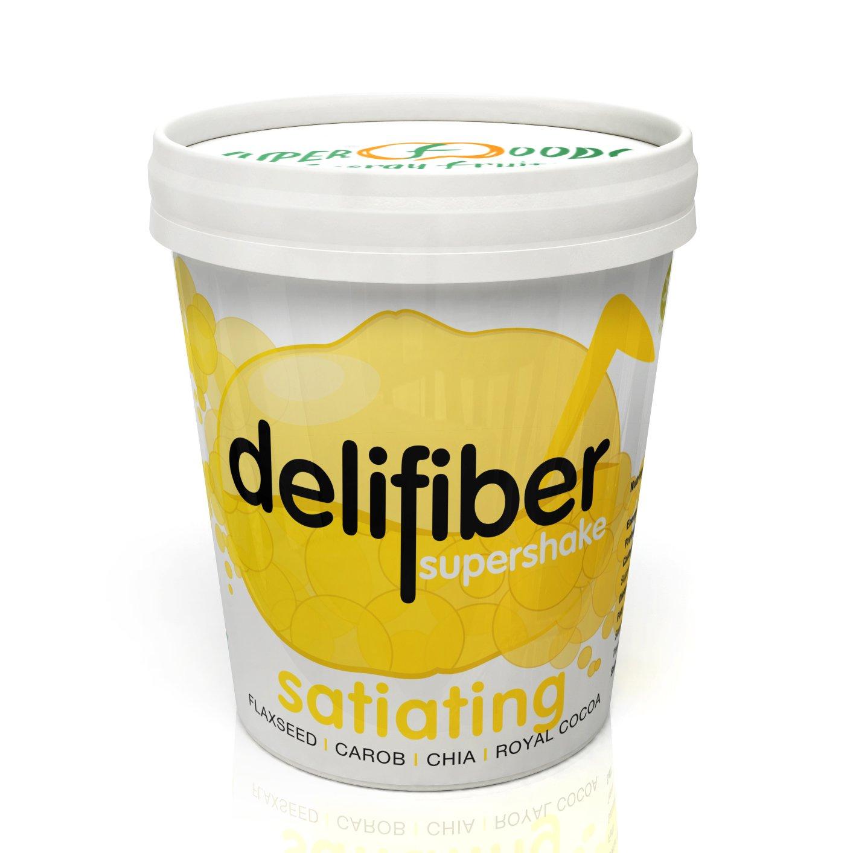 Delifiber Ecológico 2 x 250 g | Saciante | Adelgaza | Digestivo | Bloquea grasas y azúcares: Amazon.es: Salud y cuidado personal