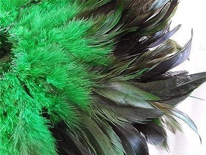 Amazon Com 30 Sale Kelly Green Half Bronze Rooster Schlappen 6 7