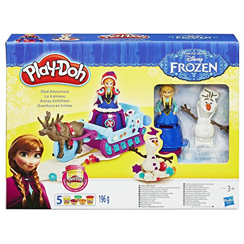 Play Doh Disney Frozen Sled Adventure Playset by Hasbro