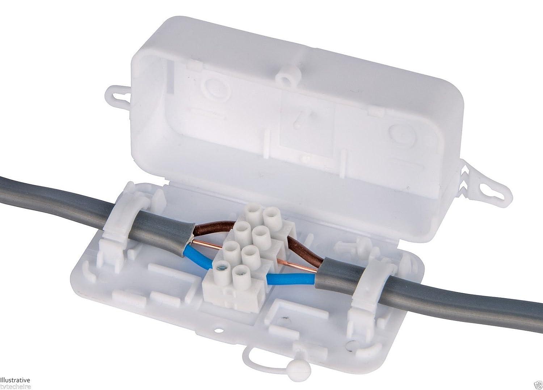 Debox SL DEKALB-003 Caja de conexiones de 4 polos ((Pack of 10)) DEKSB-003
