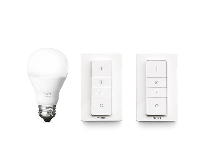 Dot Light Lampen : Philips hue white e27 led lampe erweiterung inkl. 2x dimmschalter