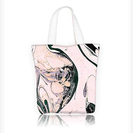 Amazon.com: Bolso de lona de mármol con textura de azulejos ...