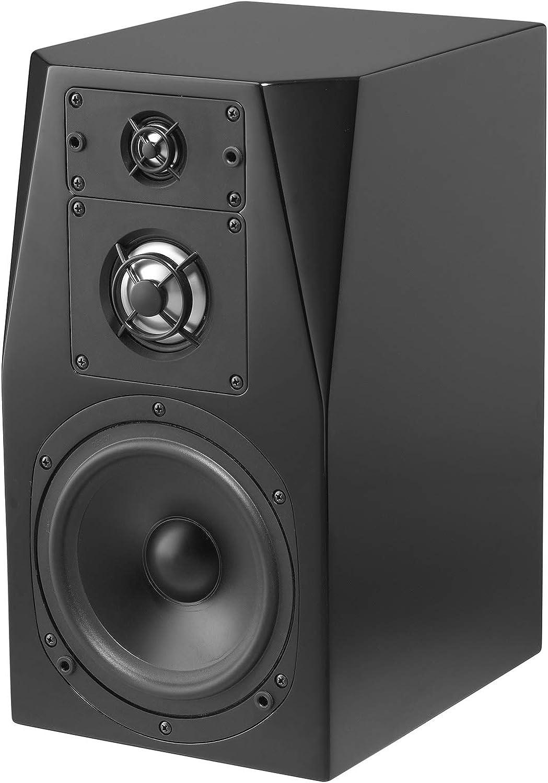 NHT C Series C-3 Premium Sealed Box 3-Way Bookshelf Speaker, Single, High Gloss Black