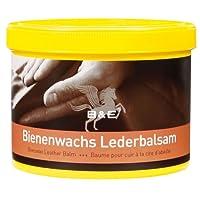 Parisol Bienenwachs-Lederpflege-Balsam - 250 ml für Ledersofas Autositze incl. Carmesin.com Microfasertuch