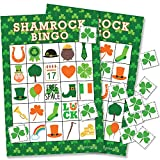 St Patrick's Day Game - Shamrock Bingo for Kids - 24 Players