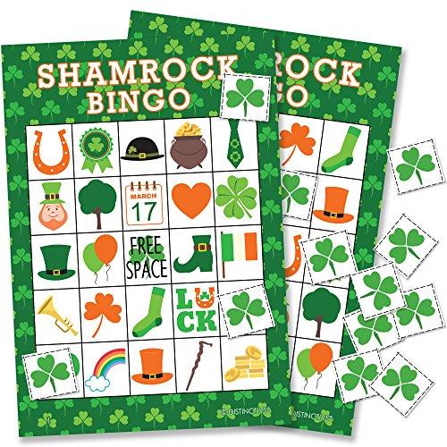 (St Patrick's Day Game - Shamrock Bingo for Kids - 24)