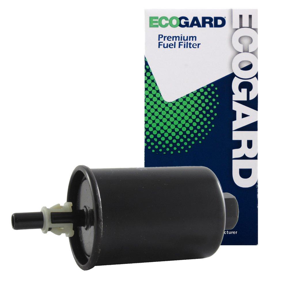 ECOGARD XF55215 Engine Fuel Filter - Premium Replacement Fits Chevrolet  Tahoe, Suburban 1500, Silverado