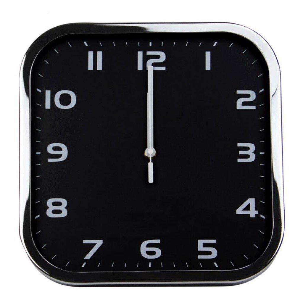GAOLILI 正方形の形の時計リビングルームミュートの壁時計スタイリッシュなクリエイティブな掛け時計 ( 色 : C ) B07C3RW9FH C C