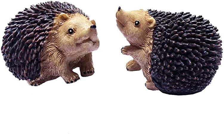 Hanging Hedgehog Welcome Sign Garden Friends Gift NEW