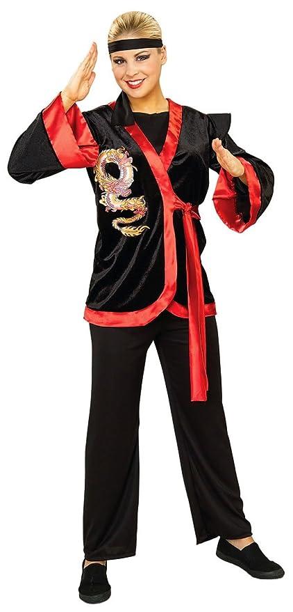 Desconocido Disfraz de dragón guerrero ninja: Amazon.es ...