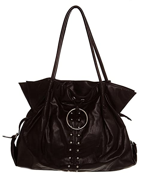 6b3693a36c Amazon.com  Silver Studded Hobo women handbag Shoulder Handbag by Handbags  For All  Shoes