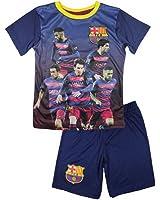 FC Barcelone - Ensemble short et maillot de foot FC Barcelone officiel 2016 enfant - 4 ans,6 ans,8 ans,5 ans,7 ans,9 ans