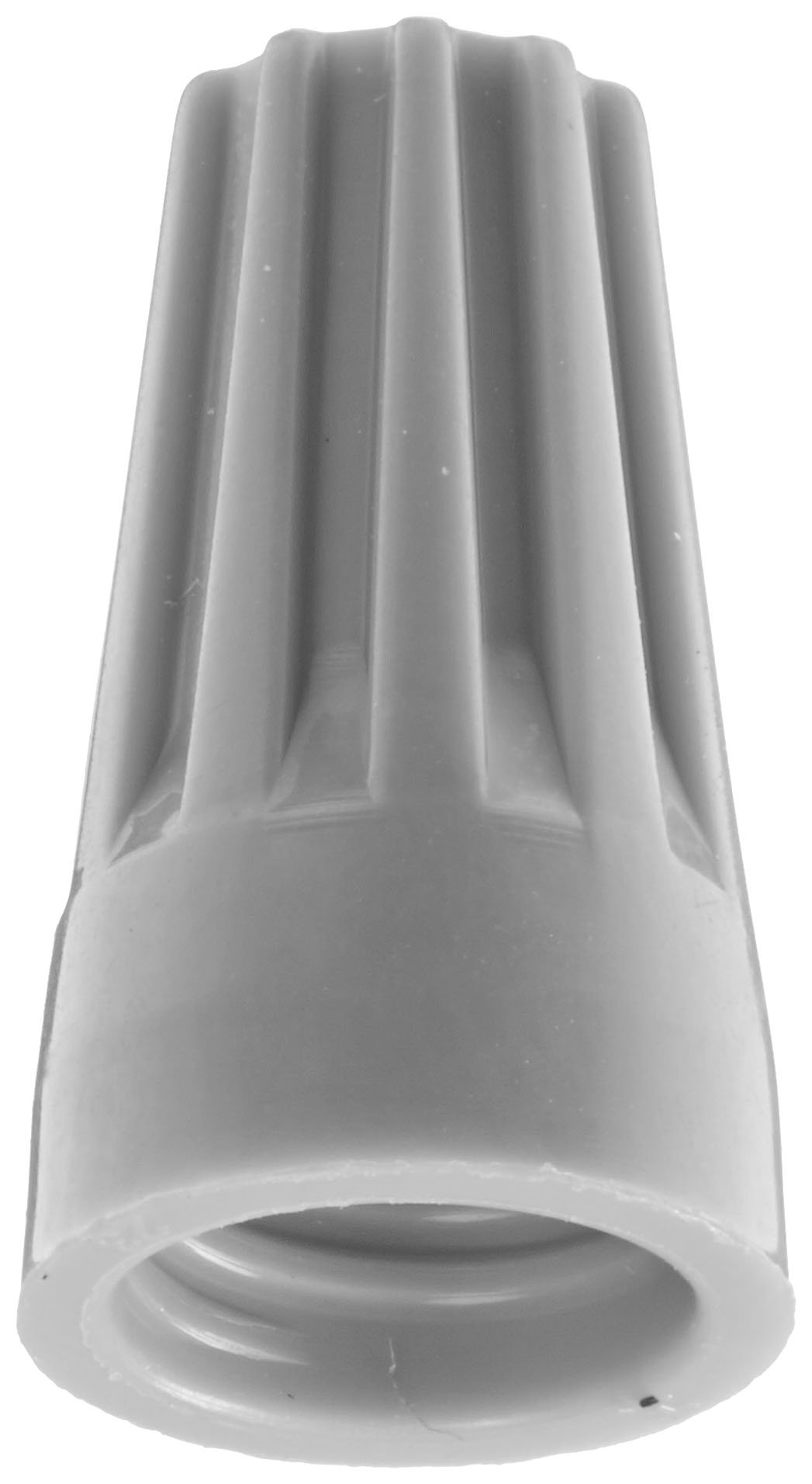 Easy-Twist Twist-On Wire Connector, Standard Type, 22-14 AWG Wire Range, 300V, Grey (Box of 100)