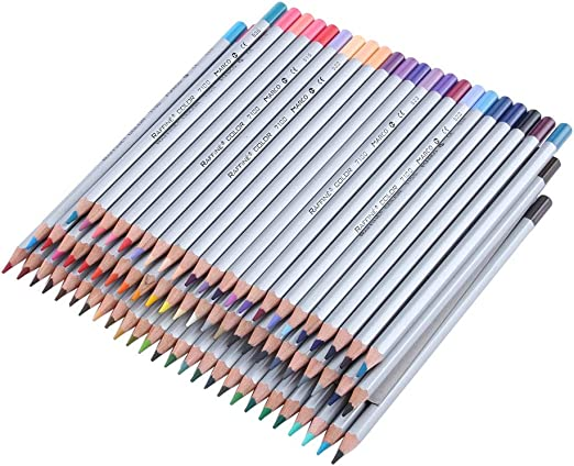 Caja de 72 lápices de colores, 72 colores únicos, los mejores lápices para niños, adultos y artistas. Ideal para todo tipo de coloreados.: Amazon.es: Hogar