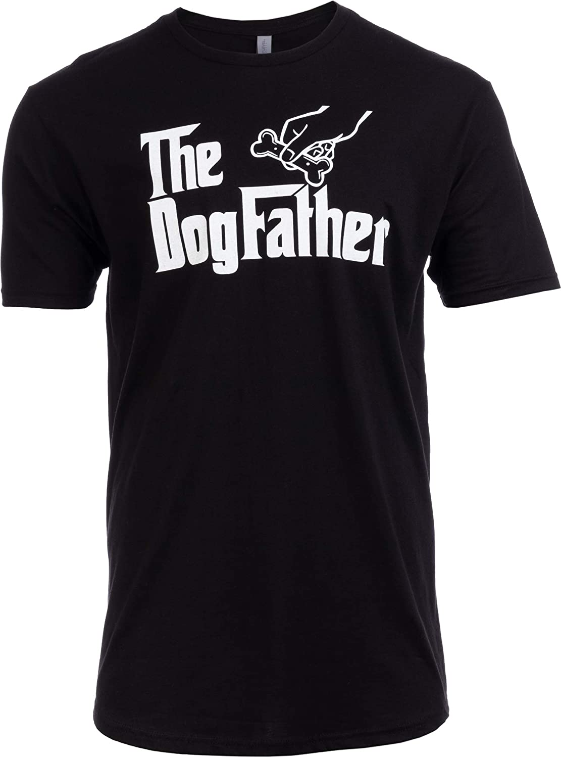 Tall Tee: The Dogfather | Funny, Cute Dog Father Dad Owner Pet Doggo Pup Fun Humor T-Shirt