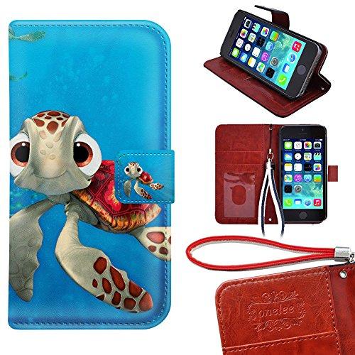 iPod Touch 5 Wallet Case, Onelee - Disney Finding Nemo Pr...