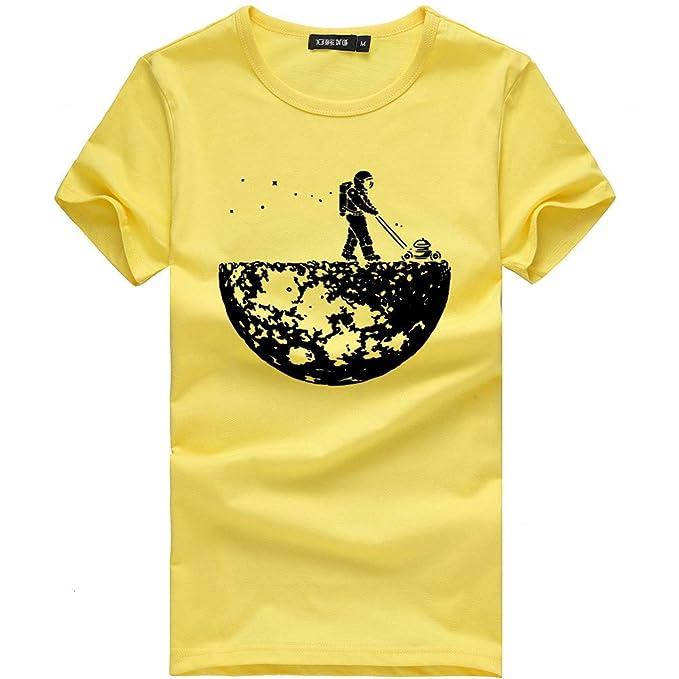 Unisexo Camisetas Divertidas Manga Corta Tallas Grandes Camisa de Deporte Originales Impresión de Moda Tops de Basica Cuello Redondo Múltiples Estilos Polos ...