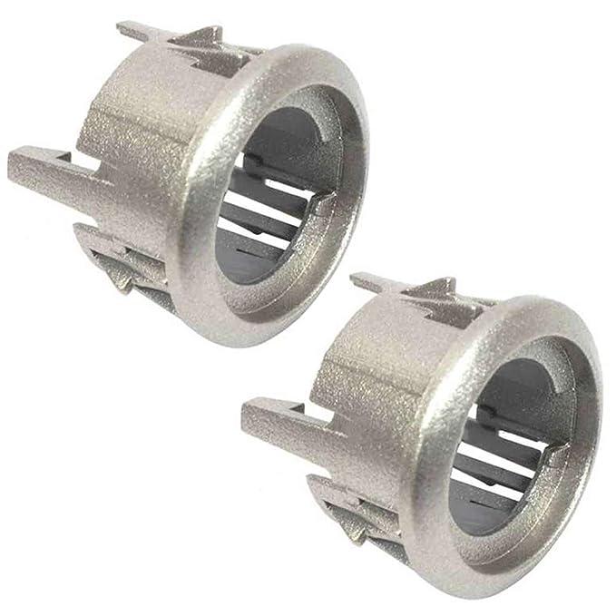 SPARES2GO - Soporte de botón para horno microondas Whirlpool (2 ...