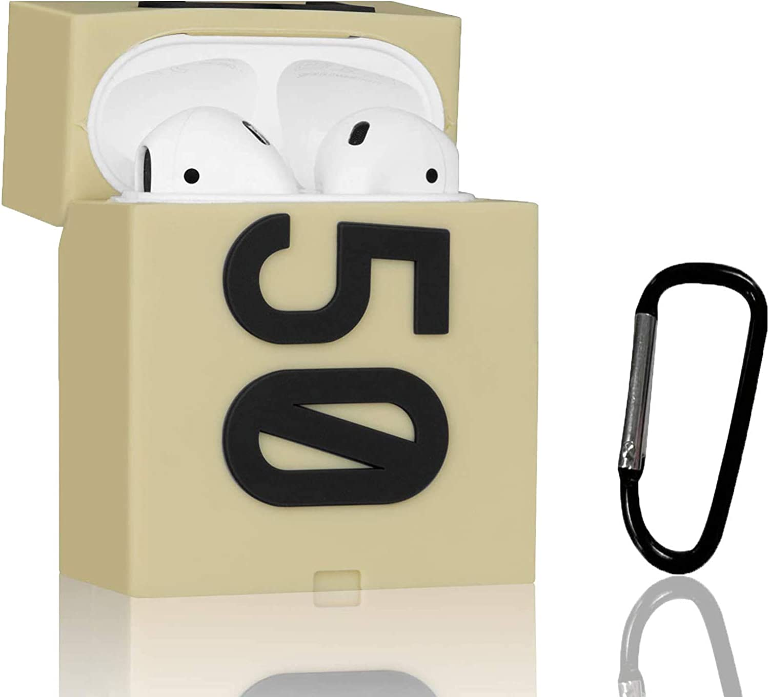 Airpods Case, Silicone Sneaker 350 Shoe Box Case Compatible for Apple Airpods 2/1 , Shockproof Airpods Case Cover Accessories with Keychain for Kids Girls Teens Boys Men Women